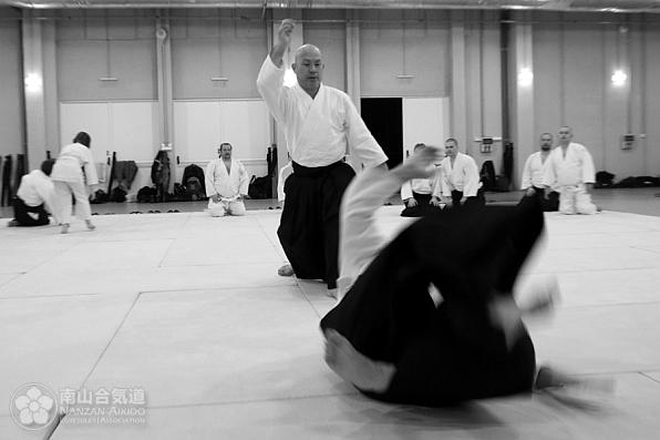 Kuribayashi sensei aikido Pécs