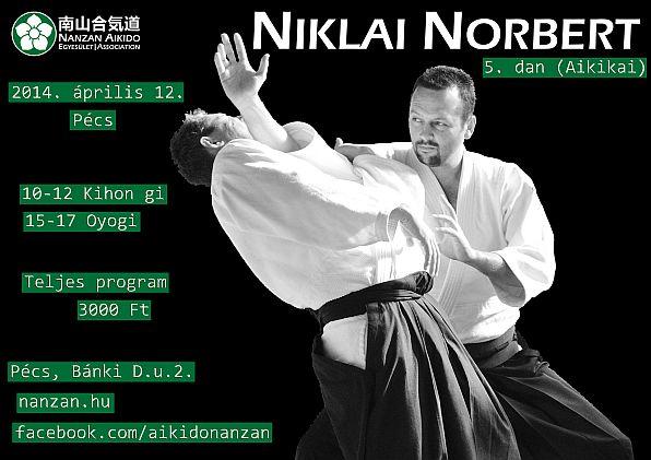Niklai Norbert 5. dan