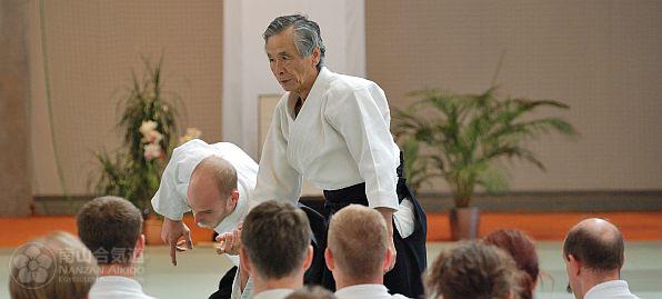 Tamura sensei (c) Nanzan Aikido Egyesület